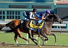 Game On Dude works at Santa Anita.