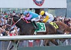 Noosa Beach won the 2010 Longacres Mile by 1 1/2 lengths.