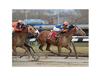 Micromanage wins the Jazil Stakes.