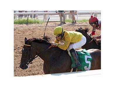 "Trubs comes through on the inside to win the Super Derby Prelude.<br><a target=""blank"" href=""http://www.bloodhorse.com/horse-racing/photo-store?ref=http%3A%2F%2Fpictopia.com%2Fperl%2Fgal%3Fprovider_id%3D368%26ptp_photo_id%3D9627376%26ref%3Dstory"">Order This Photo</a>"