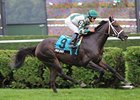 "Soldat defeated Powhatan County by 3 lengths in the With Anticipation Stakes.<br><a target=""blank"" href=""http://www.bloodhorse.com/horse-racing/photo-store?ref=http%3A%2F%2Fpictopia.com%2Fperl%2Fgal%3Fprovider_id%3D368%26ptp_photo_id%3D9169452%26ref%3Dstory"">Order This Photo</a>"