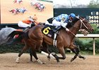 Donoharm takes the Fifth Season Stakes an opening day at Oaklawn.
