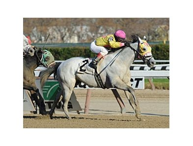 "Sportswriter won the Thunder Rumble by 3/4 lengths.<br><a target=""blank"" href=""http://photos.bloodhorse.com/AtTheRaces-1/at-the-races-2012/22274956_jFd5jM#!i=2215789927&k=hXBCqzc"">Order This Photo</a>"