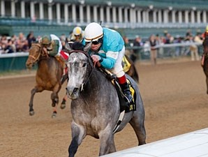 On Fire Baby wins the 2011 Golden Rod.