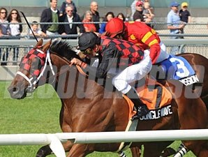 Jungle Wave wins the 2009 Play The King Stakes.