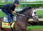 "General a Rod<br><a target=""blank"" href=""http://photos.bloodhorse.com/TripleCrown/2014-Triple-Crown/Kentucky-Derby-Workouts/i-fN68VDH"">Order This Photo</a>"