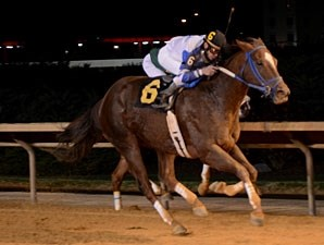 Russell Road wins the 2012 A Huevo Stakes.