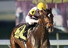 Sunbean won the Delta Mile at Delta Downs on Nov. 22 by five lengths.
