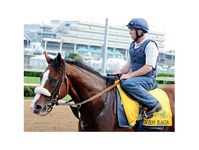 "Union Rags<br><a target=""blank"" href=""http://photos.bloodhorse.com/TripleCrown/2012-Triple-Crown/Works/22611108_LR3wcn#!i=1827778485&k=92qwmc9"">Order This Photo</a>"