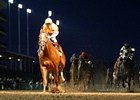 Wise Dan leads the way in the Clark at Churchill Downs.