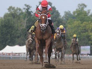 D' Funnybone wins the 2009 Saratoga Special.