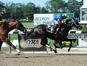Shanghai Bobby wins the 2012 Track Barron.