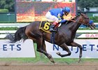 Indian Blessing won the seven furlong Test at Saratoga this past summer.