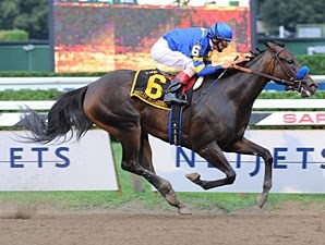 Indian Blessing cruises in the Test Stakes.