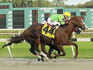 Catalina Red wins the Pasco Stakes.