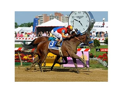 "Fifthyshadesofhay won the May 17 Black-Eyed Susan by a neck.<br><a target=""blank"" href=""http://photos.bloodhorse.com/AtTheRaces-1/at-the-races-2013/27257665_QgCqdh#!i=2517864882&k=GqgcGdJ"">Order This Photo</a>"