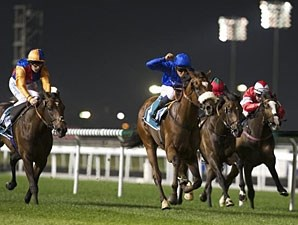 Now Spun wins the 2013 Meydan Classic.
