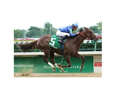 Graeme Six earned wins her first graded race May 26 in the Winning Colors (gr. III) at Churchill Downs.