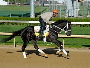 Black Onyx - Churchill Downs, April 26, 2013.