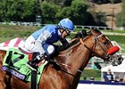 "Goldencents won the 2013 Breeders' Cup Dirt Mile. <br><a target=""blank"" href=""http://photos.bloodhorse.com/BreedersCup/2013-Breeders-Cup/Dirt-Mile/33149801_zx584H#!i=2876859392&k=BWFGXHZ"">Order This Photo</a>"
