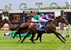 Treasure Beach won the 2011 Secretariat Stakes at Arlington Park.