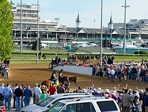 Goldencents - Churchill Downs, May 2, 2013.