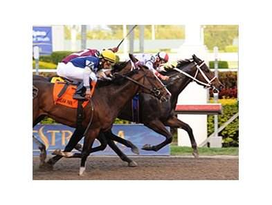 "Tackleberry holds them all off to win the Gulfstream Park Handicap.<br><a target=""blank"" href=""http://www.bloodhorse.com/horse-racing/photo-store?ref=http%3A%2F%2Fpictopia.com%2Fperl%2Fgal%3Fprovider_id%3D368%26ptp_photo_id%3D9445347%26ref%3Dstory"">Order This Photo</a>"