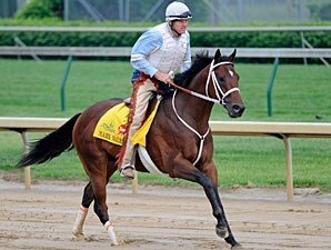 Mark Valeski at Churchill Downs 4/29/2012