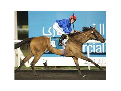 Shuruq and Paul Hanagan take the United Arab Emirates Oaks.