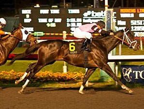 Violence wins the 2012 CashCall Futurity.