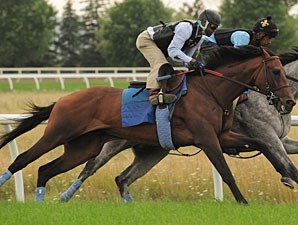 Stunning Split - Woodbine August 2, 2011.