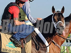Ride on Curlin - Belmont, May 27, 2014