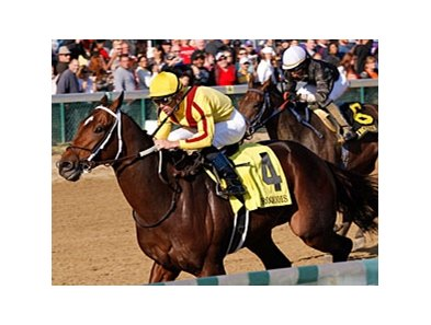 Iroquois winner Astrology tops the field in the Kentucky Jockey Club Stakes.