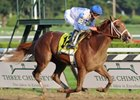 "Dublin, the 2-year-old son of Afleet Alex, posted a two-length win in the Hopeful Stakes at Saratoga.<br><a target=""blank"" href=""http://www.bloodhorse.com/horse-racing/photo-store?ref=http%3A%2F%2Fpictopia.com%2Fperl%2Fgal%3Fprovider_id%3D368%26ptp_photo_id%3D8461713%26ref%3Dstory"">Order This Photo</a>"