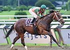 "Mani Bhavan cruises in the Adirondack under Alan Garcia.<br><a target=""blank"" href=""http://www.bloodhorse.com/horse-racing/photo-store?ref=http%3A%2F%2Fpictopia.com%2Fperl%2Fgal%3Fprovider_id%3D368%26ptp_photo_id%3D5513386%26ref%3Dstory"">Order This Photo</a>"