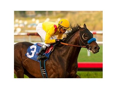 Richard's Kid tops the six-horse field entered in the Cougar II Handicap at Del Mar July.