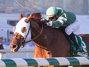 Roadhog wins the 2012 Maryland Million Turf.