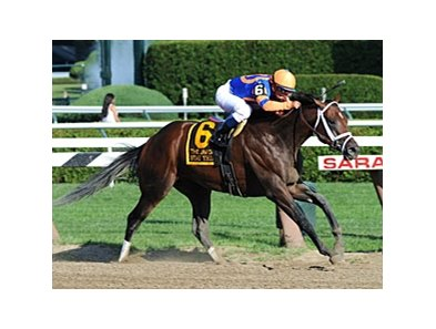 "Stay Thirsty takes command in the Jim Dandy.<br><a target=""blank"" href=""http://www.bloodhorse.com/horse-racing/photo-store?ref=http%3A%2F%2Fpictopia.com%2Fperl%2Fgal%3Fprovider_id%3D368%26ptp_photo_id%3D9621119%26ref%3Dstory"">Order This Photo</a>"