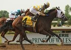 Dixie Strike won the Prince of Wales on dirt at Fort Erie on July 15.