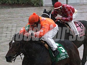 Superior Storm wins the 2009 Louisiana Champions Day Ladies.