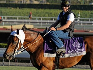 Calidoscopio at Santa Anita 10/29/2012.