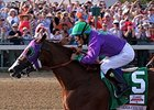 California Chrome Breezes Steadily at Los Al