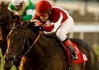 "Victor's Cry carries 122 pounds in the Thunder Road.<br><a target=""blank"" href=""http://www.bloodhorse.com/horse-racing/photo-store?ref=http%3A%2F%2Fpictopia.com%2Fperl%2Fgal%3Fprovider_id%3D368%26ptp_photo_id%3D9301768%26ref%3Dstory"">Order This Photo</a>"