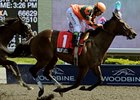 Biofuel registered her fourth win in five starts in the La Lorgnette Stakes at Woodbine.