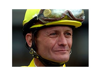 Calvin Borel is one of five finalists for the 2008 George Woolf Memorial Jockey Award.