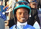 Jockey Krigger Injured at Santa Anita