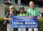 Trainer Chris Block Gets Win No. 1,000