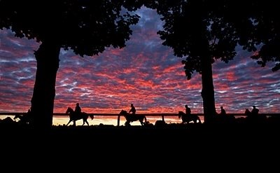 The sun rises on another week of an amazing meet at historic Saratoga Race Course.