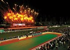 Bright Lights: Fireworks erupt at Happy Valley Racecourse in Hong Kong Dec. 9 as the annual jockeys' championship is about to begin.