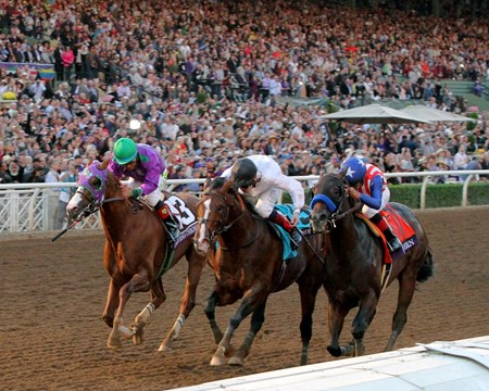 The 2014 Breeders' Cup Classic (gr. IT) at Santa Anita Park was voted #3.